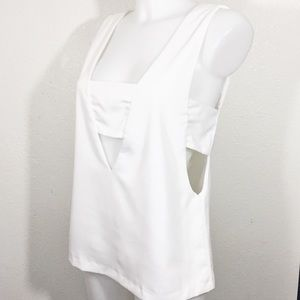 Forever 21 bandage Blouse Top size 6
